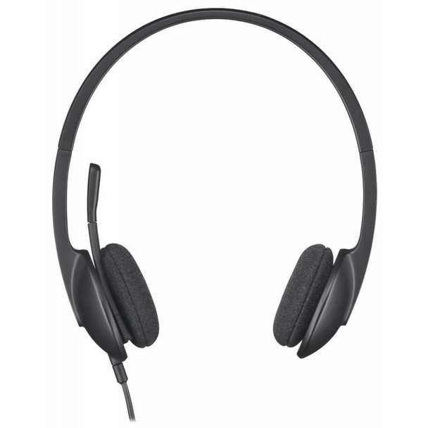 Logitech H340 USB Headset Black Product Image 4