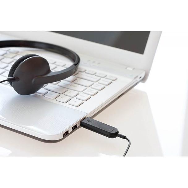 Logitech H340 USB Headset Black Product Image 6