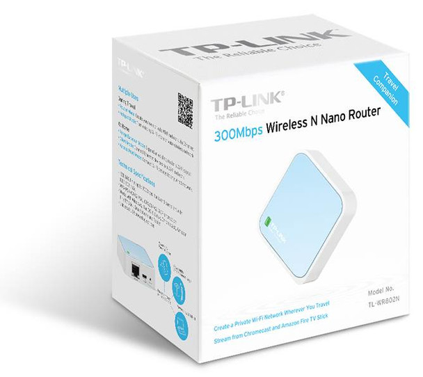 TP-Link TL-WR802N 300Mbps Wireless N Nano Router Product Image 4