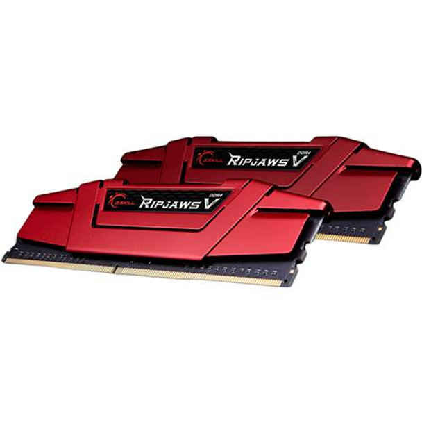 Product image for G.Skill Ripjaws V 16GB (2x 8GB) DDR4 2400MHz Memory Red | AusPCMarket Australia