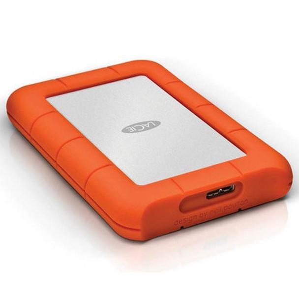 Product image for LaCie 1TB USB 3.0 Rugged Mini Portable Hard Drive   AusPCMarket Australia