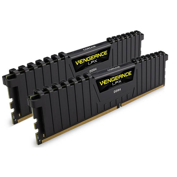 Product image for Corsair Vengeance LPX 16GB (2x 8GB) DDR4 2666MHz Memory Black | AusPCMarket Australia