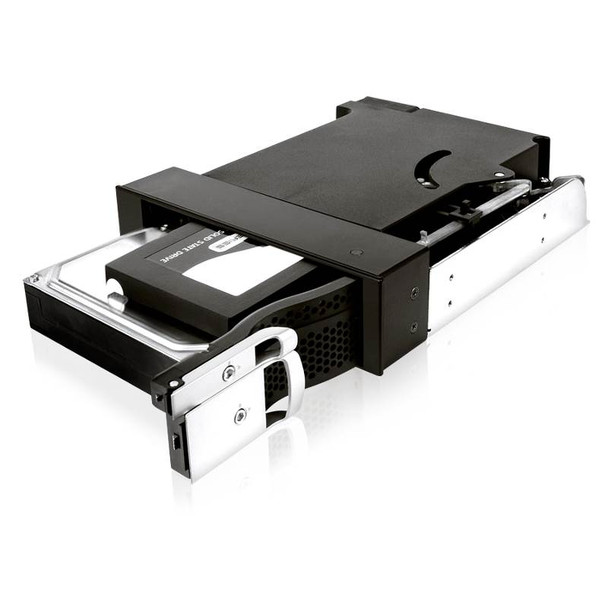 ICY BOX IB-172SK-B 5.25in bay Trayless Module for 1x 2.5in and 1x 3.5in SATA HDDs Product Image 4
