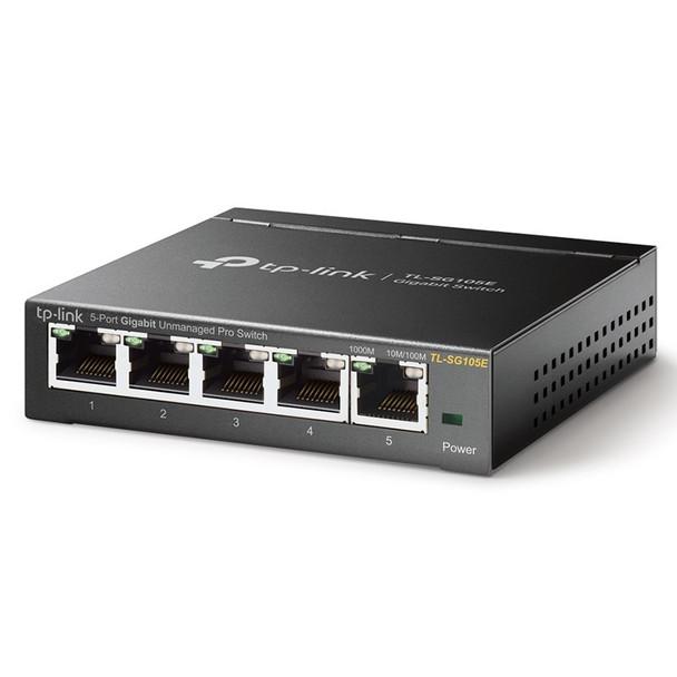 TP-Link TL-SG105E - 5-Port Gigabit Easy Smart Switch Product Image 2