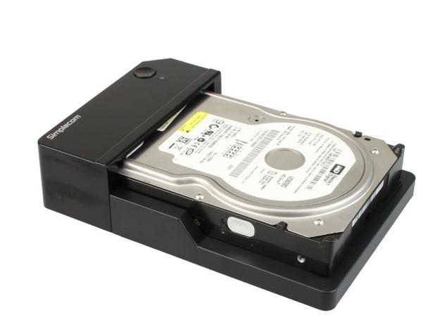 Product image for Simplecom SD323 USB 3.0 Horizontal SATA Hard Drive Docking Station   AusPCMarket Australia