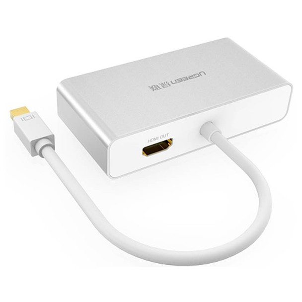 Adapter 3-in-1 Mini DisplayPort to HDMI&VGA&DVI--white Product Image 2