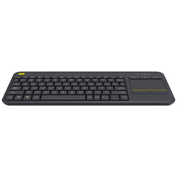 Logitech K400 Plus Wireless Touch Keyboard Black Product Image 3