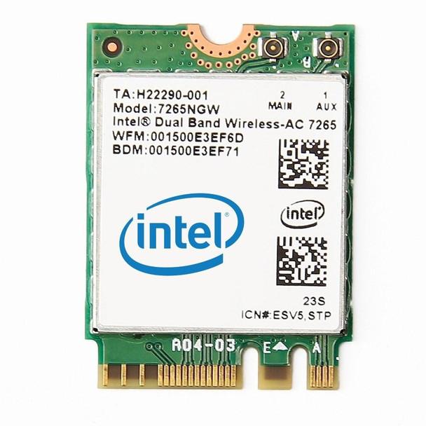 Product image for Intel 7265 Dual Band Wireless-AC M.2 2230 Card   AusPCMarket Australia