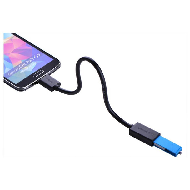 Micro USB 3.0 OTG Cable For Samsung Note 3/S4/S5 Black Product Image 4
