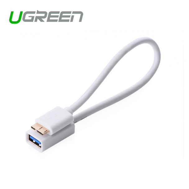 Product image for Micro USB 3.0 OTG Cable For Samsung Note 3/S4/S5 White | AusPCMarket Australia