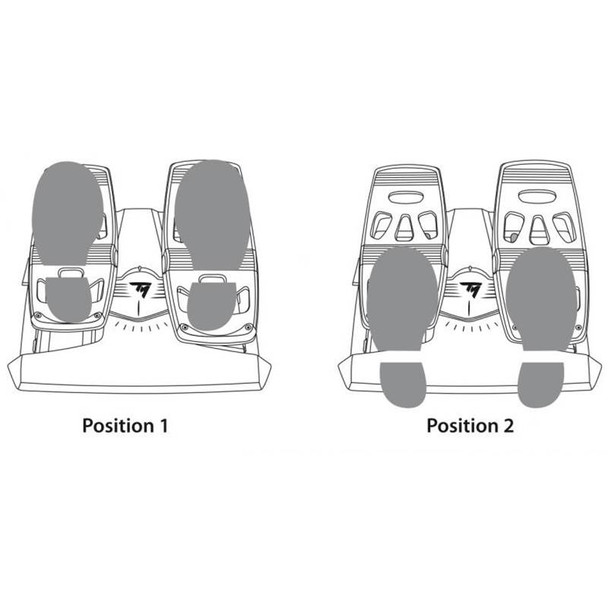 Thrustmaster Flight Rudder Pedals For PC & PS4 Product Image 10