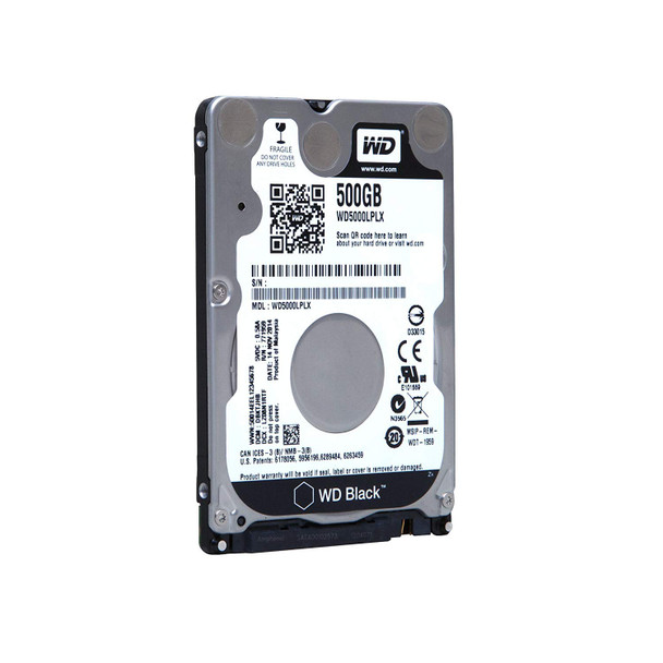 Product image for Western Digital WD Black 2.5in 500GB HDD | AusPCMarket Australia