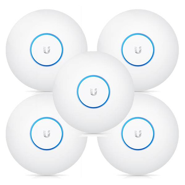 Ubiquiti Networks UAP-AC-LR 802.11ac Long Range Dual-Radio Access Point - 5 Pack