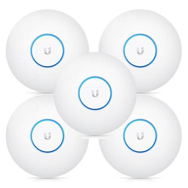Product image for Ubiquiti Networks UAP-AC-PRO-5 802.11ac Dual-Radio Access Point - 5 Pack | AusPCMarket Australia