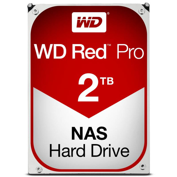 Product image for Western Digital WD Red Pro 2TB NAS Hard Drive | AusPCMarket Australia
