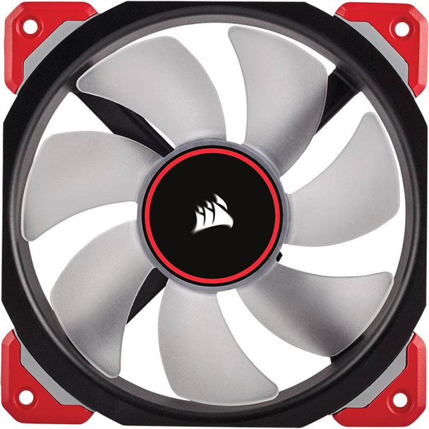 Corsair ML120 Pro LED 120mm Premium Mag-Lev Fan Red Product Image 3