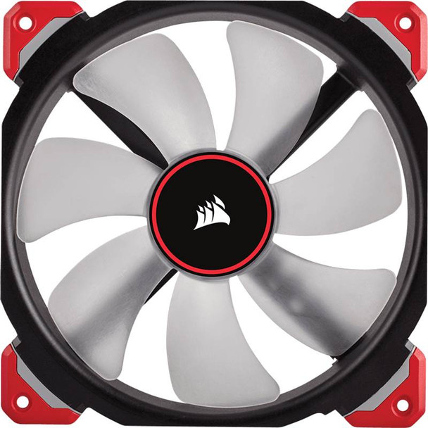 Corsair ML140 Pro LED 140mm Premium Mag-Lev Fan Red Product Image 3