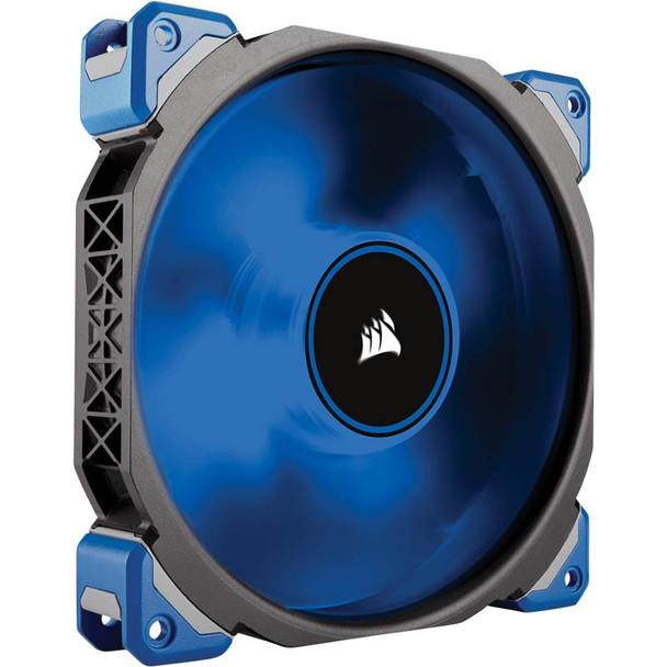 Product image for Corsair Pro ML140  LED 140mm Premium Mag-Lev Fan Blue   AusPCMarket Australia