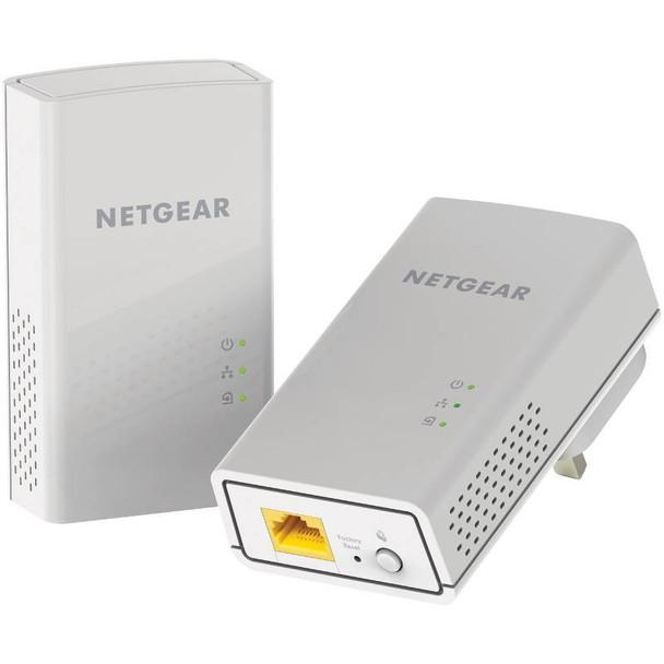 Product image for Netgear PL1000 1 Port Gigabit Ethernet Powerline Kit | AusPCMarket Australia