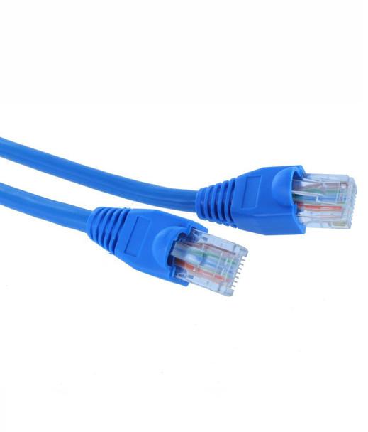 Product image for 0.5M Blue FTP Shielded CAT6 Cable   AusPCMarket Australia