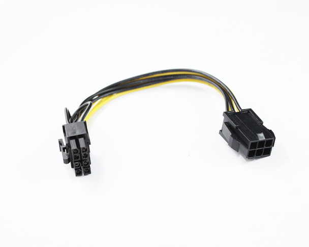 Product image for 20CM PCIe 6Pin F to 8Pin M Cable | AusPCMarket Australia