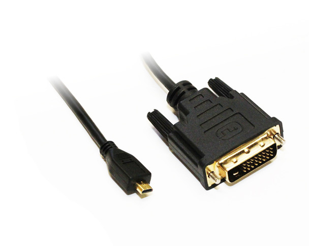 Product image for 2M Micro HDMI to DVI-D Cable   AusPCMarket Australia