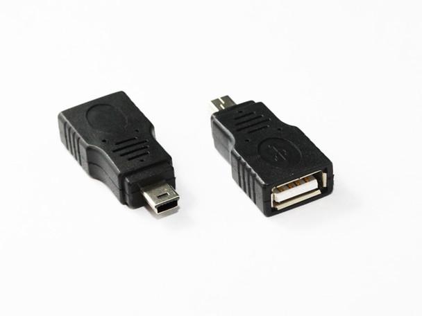 Product image for Mini USB 5Pin Male to USB 2.0 AF Adaptor | AusPCMarket Australia