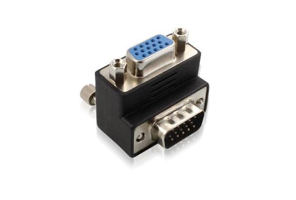 Product image for Right Angle VGA M-F Adaptor | AusPCMarket Australia