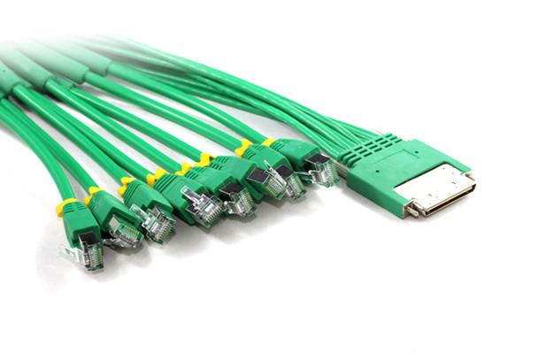 Product image for 3M HPC68M To 8 X RJ45 Plug Cable | AusPCMarket Australia