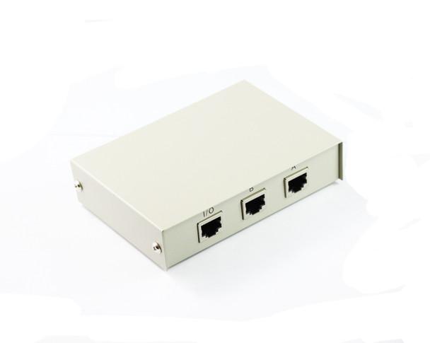 Product image for 2 Port RJ45 Network Push Button Switch | AusPCMarket Australia