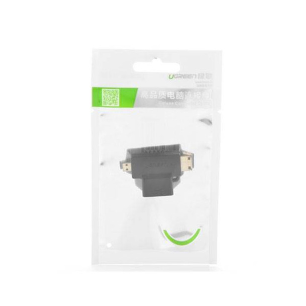 UGreen Micro HDMI + Mini HDMI Male to HDMI Female Adapter Product Image 3