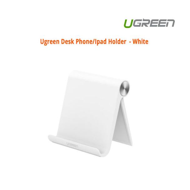 Product image for UGreen Desk Phone/Ipad Holder  - White   AusPCMarket Australia
