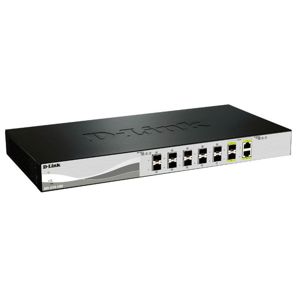 Product image for D-Link DXS-1210-12SC 12 Port 10 Gigabit WebSmart Switch | AusPCMarket Australia