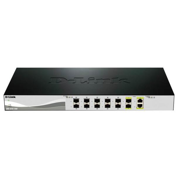 D-Link DXS-1210-12SC 12 Port 10 Gigabit WebSmart Switch Product Image 2
