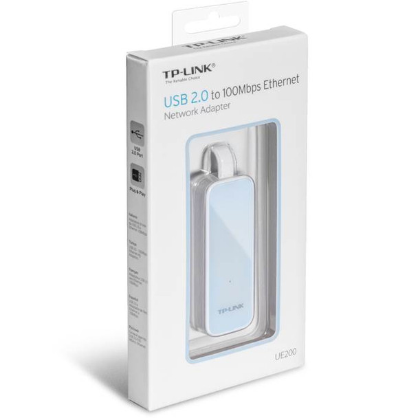 TP-Link UE200 USB 2.0 to 100Mbps Ethernet Network Adapter Product Image 5