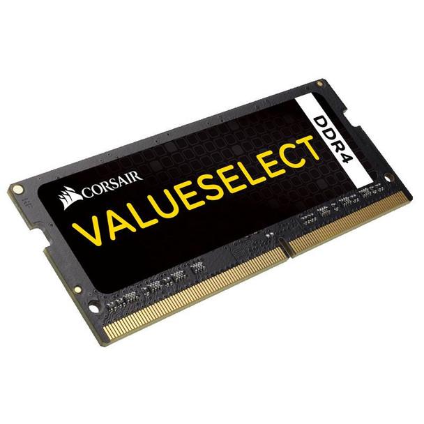 Product image for Corsair Value Select 8GB (1x 8GB) DDR4 2133MHz SODIMM Memory   AusPCMarket Australia