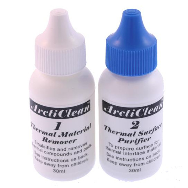 Product image for Arctic Silver ArctiClean Thermal Compound Remover 60ml Kit | AusPCMarket Australia