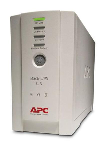 Product image for APC Back-UPS CS 500VA RoHS DB-9 RS-232 & USB Ports | AusPCMarket Australia