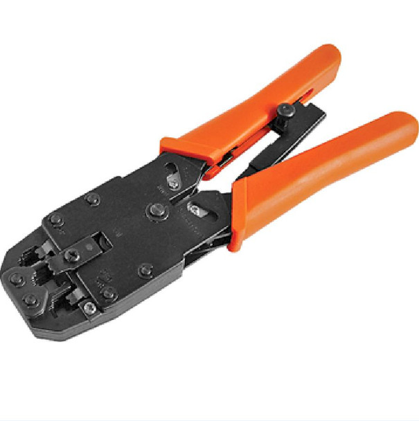 Product image for 8 pins RJ-45 6 pins RJ-12 4 pins RJ-11 Crimper Cut Strip Crimping Tool | AusPCMarket Australia
