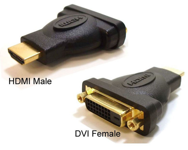 HDMI to DVI-D Adapter Converter Male to Female