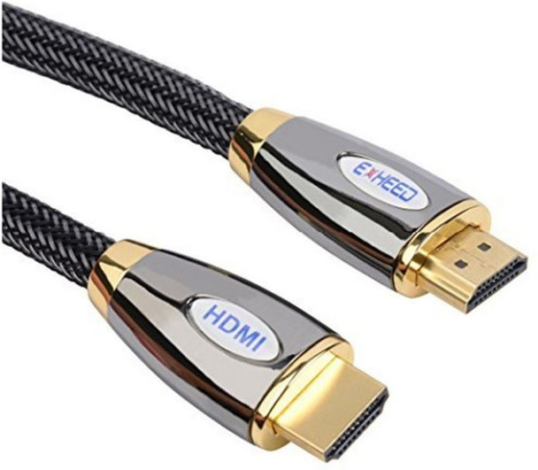 Product image for 2m Premium HDMI Cable - 19 pins Male to Male  OD6.0mm Nylon Jacket Met | AusPCMarket Australia