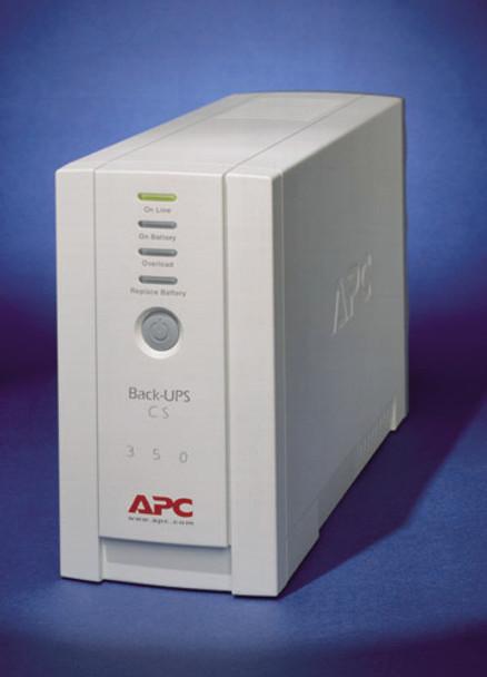 APC Back-UPS CS 350VA RoHS DB-9 RS-232 & USB Ports Product Image 4