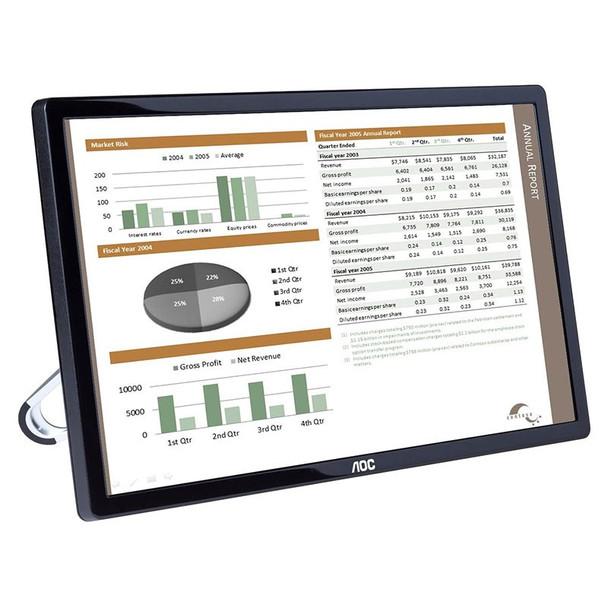 AOC E1659FWU 15.6in 1366 x 768 8ms USB3 Powered Portable LED Monitor Product Image 6