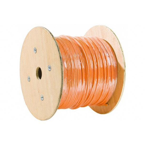 Product image for CAT6 UPT Cable 305m - Full Copper Wire Ethernet LAN Network Roll Orang   AusPCMarket Australia