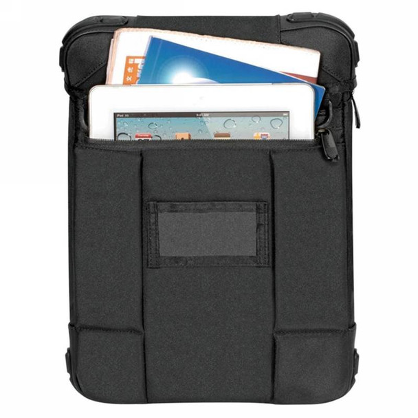 Targus Grid 12in Vertical Hooded Slipcase - Black-  Perfect for Surface Product Image 3