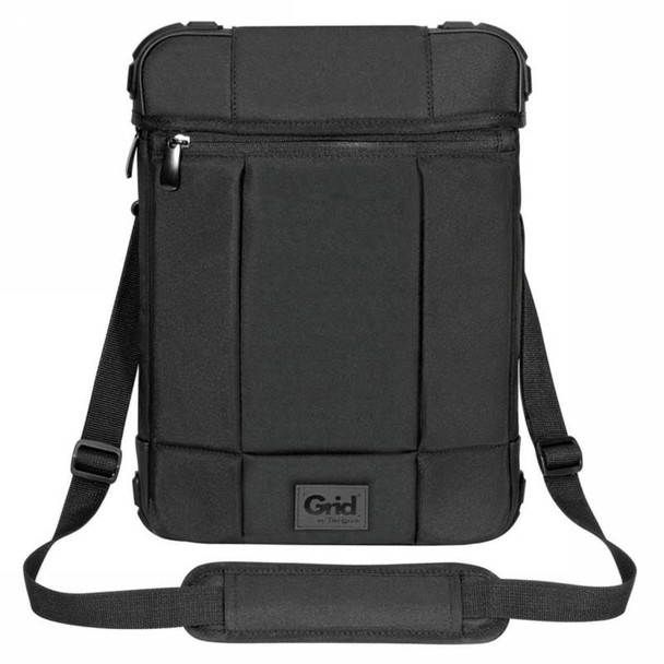 Targus Grid 12in Vertical Hooded Slipcase - Black-  Perfect for Surface Product Image 9