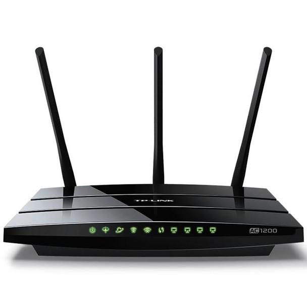 Product image for TP-Link Archer VR400 AC1200 Wireless VDSL/ADSL Modem Router - NBN Ready   AusPCMarket Australia