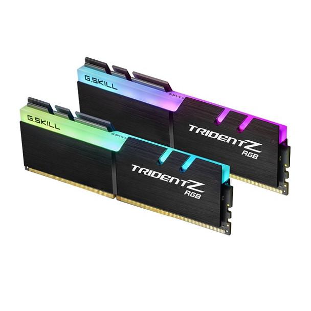 16GB G.Skill DDR4-3000 Dual Channel [Trident Z RGB] F4-3000C15D-16GTZR