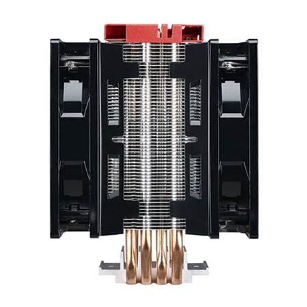 Cooler Master Hyper 212 LED Turbo CPU Cooler - Red Top Cover Product Image 2
