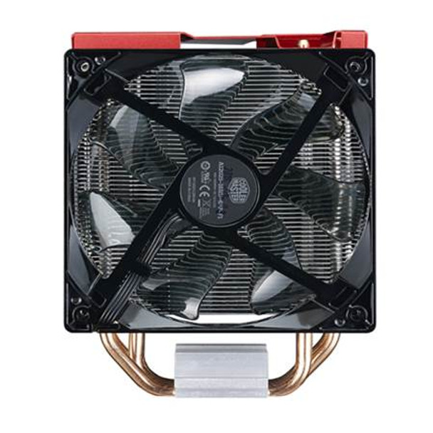 Cooler Master Hyper 212 LED Turbo CPU Cooler - Red Top Cover Product Image 3